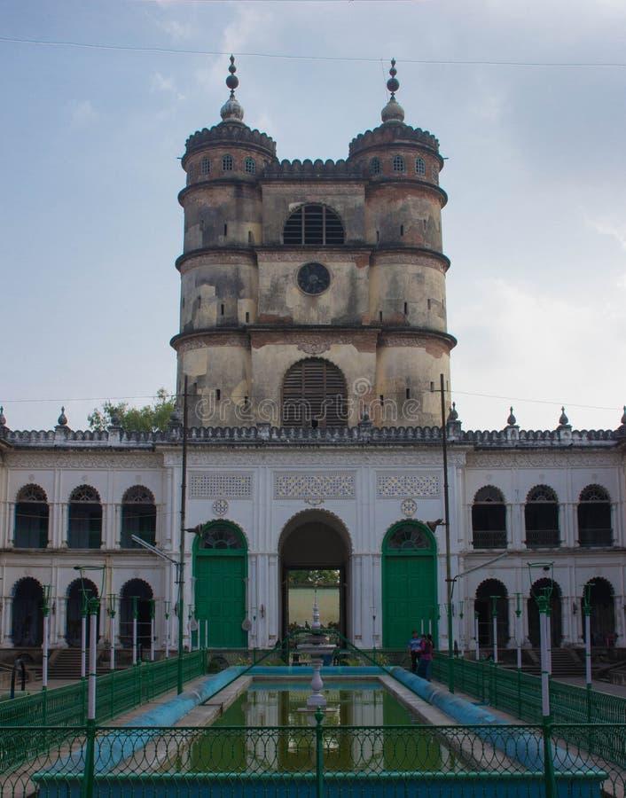 老半殖民地大厦在印度 免版税库存照片