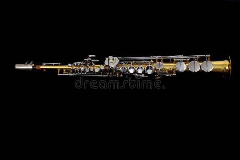 老单簧管 免版税库存图片