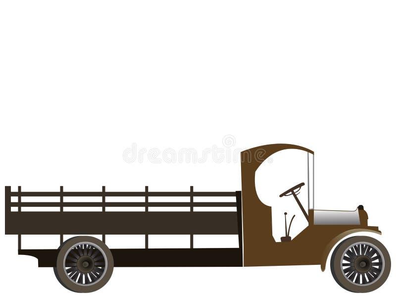 老卡车 向量例证