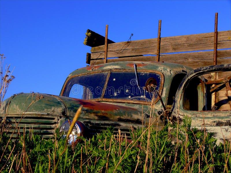 老卡车 免版税库存照片