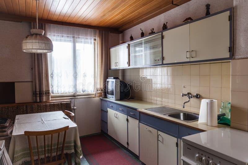 老厨房 免版税库存照片