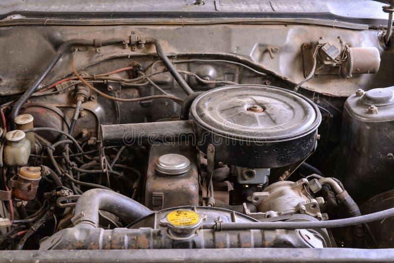老发动机 库存图片