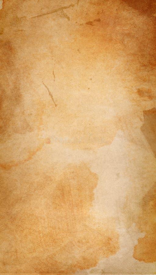 老变老的葡萄酒纸张细微的grunge纹理 皇族释放例证
