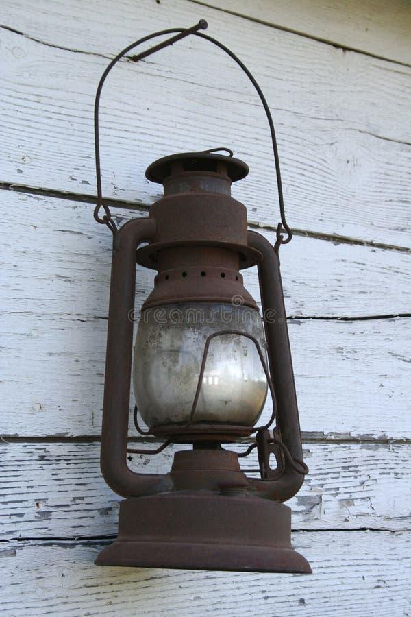 老古色古香的灯笼 免版税图库摄影