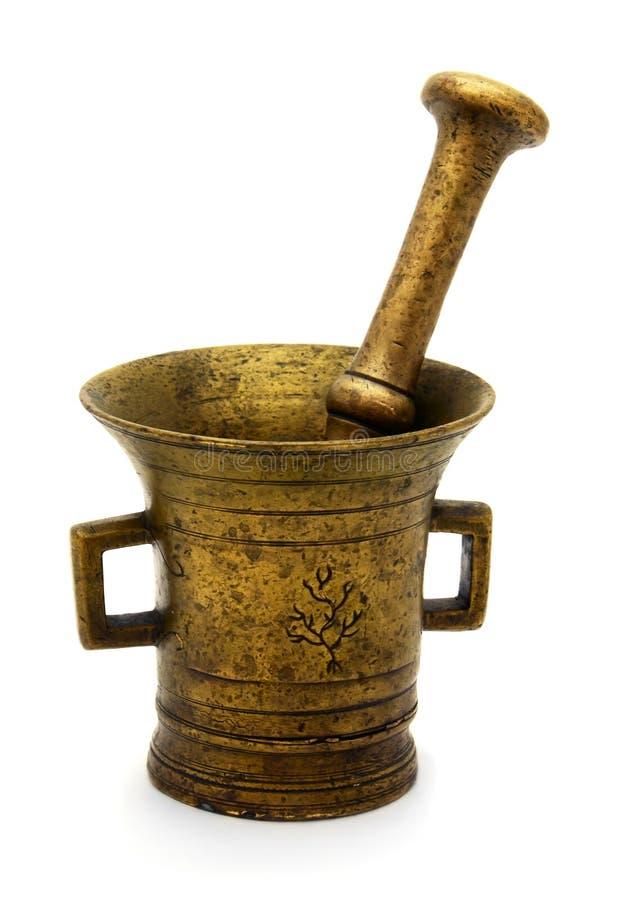 老古铜色灰浆 免版税图库摄影
