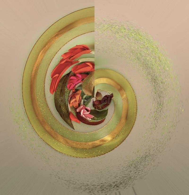 老叶子的汇集 金黄小野鸭被设色的明亮的纸 好为海报,问候,卡片,题材 免版税库存照片