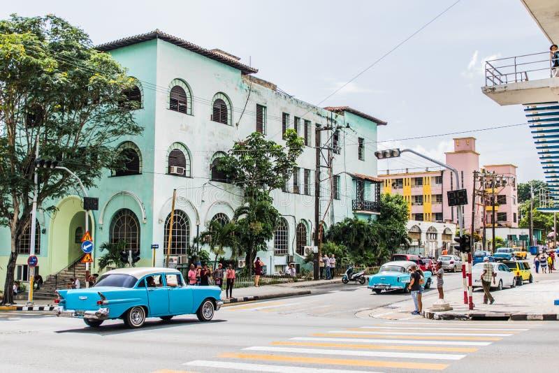 老哈瓦那街道  免版税库存图片