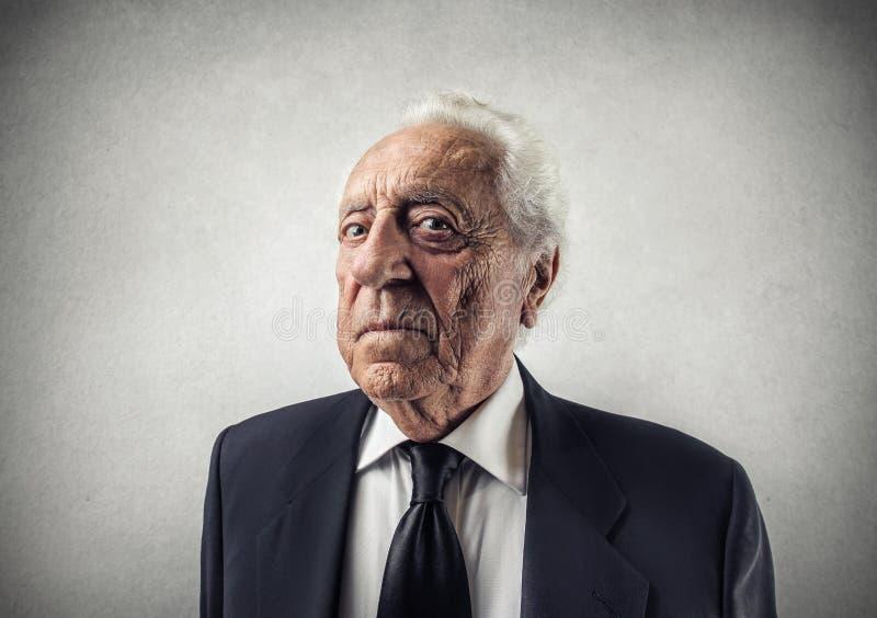 老商人 免版税库存图片