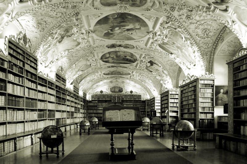老图书馆 免版税库存照片