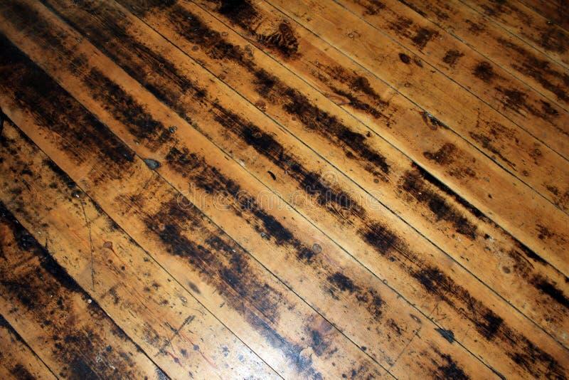 老地板 免版税库存图片