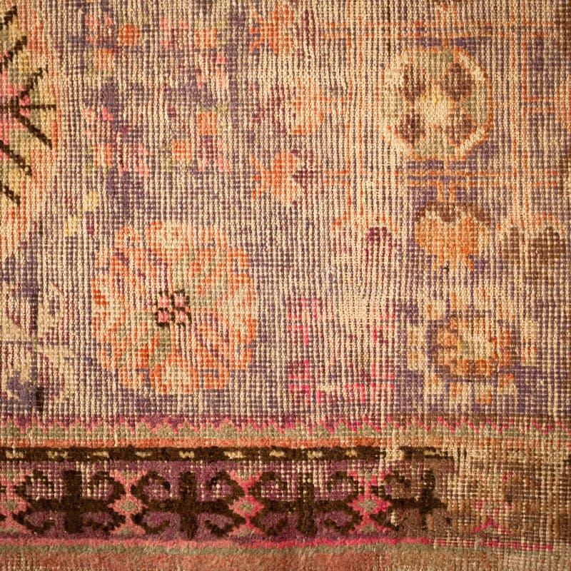 老地毯 免版税库存图片