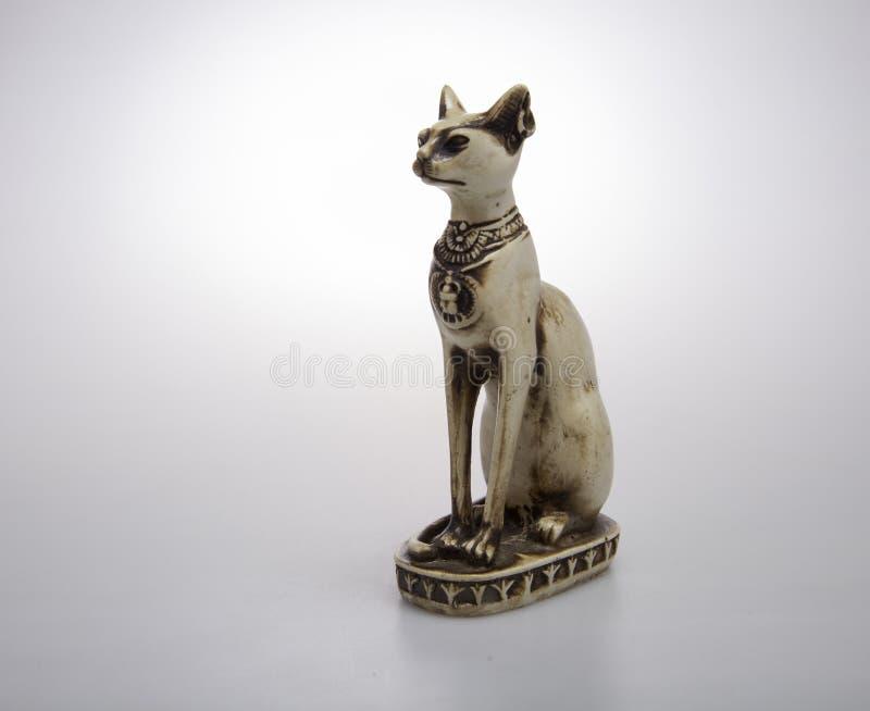 从老埃及的猫 免版税库存照片