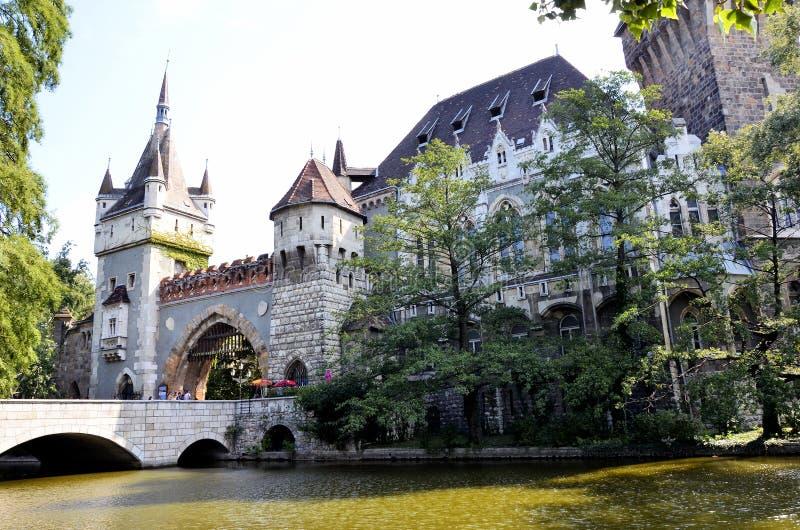 老城堡在布达佩斯 库存照片