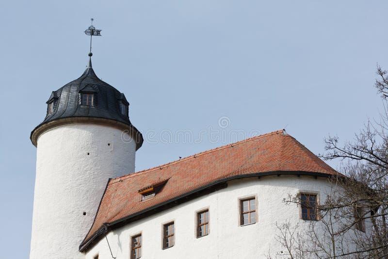 老城堡拉本斯泰因在开姆尼茨 免版税库存照片