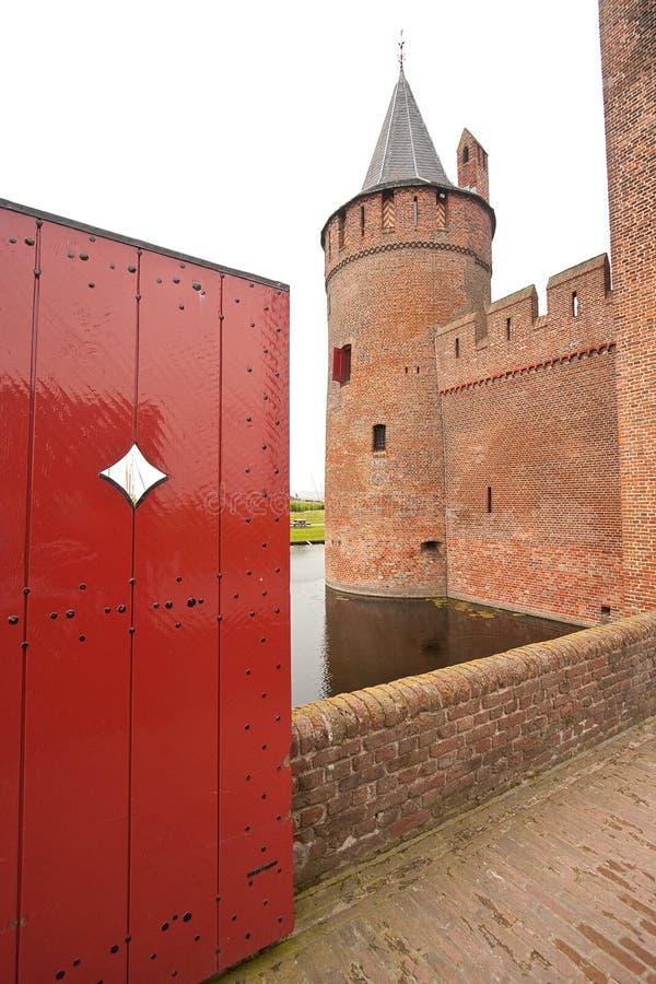 老城堡非常 免版税库存图片