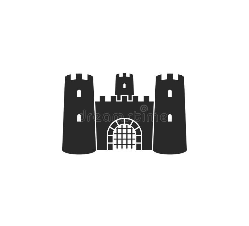 老城堡 ?? r 皇族释放例证