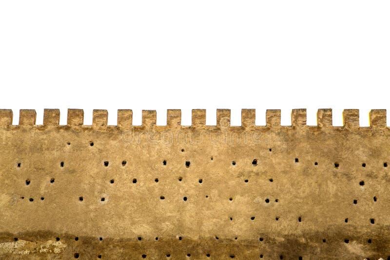 老城市墙壁在菲斯,摩洛哥 库存照片