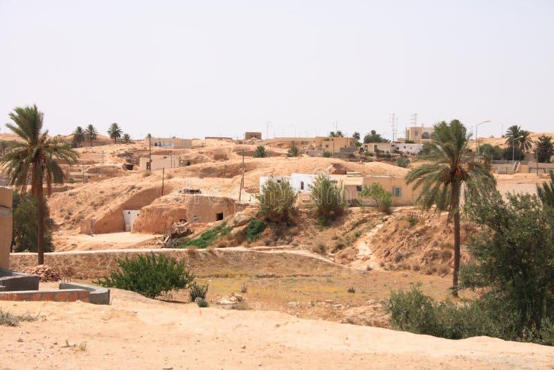 老城市沙漠 免版税库存照片