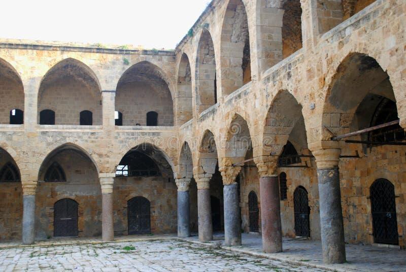 老城市的废墟 库存照片