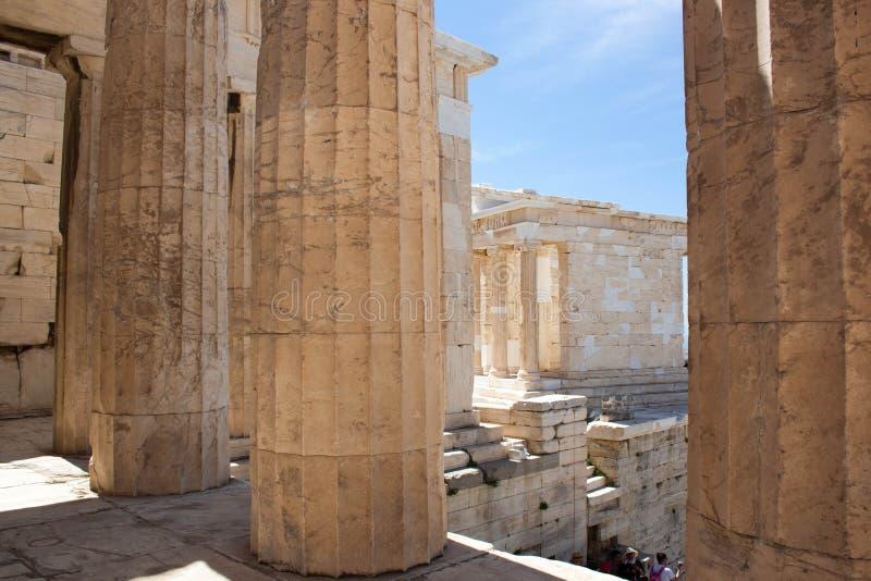 老城市,旅行欧洲,希腊语 免版税库存图片