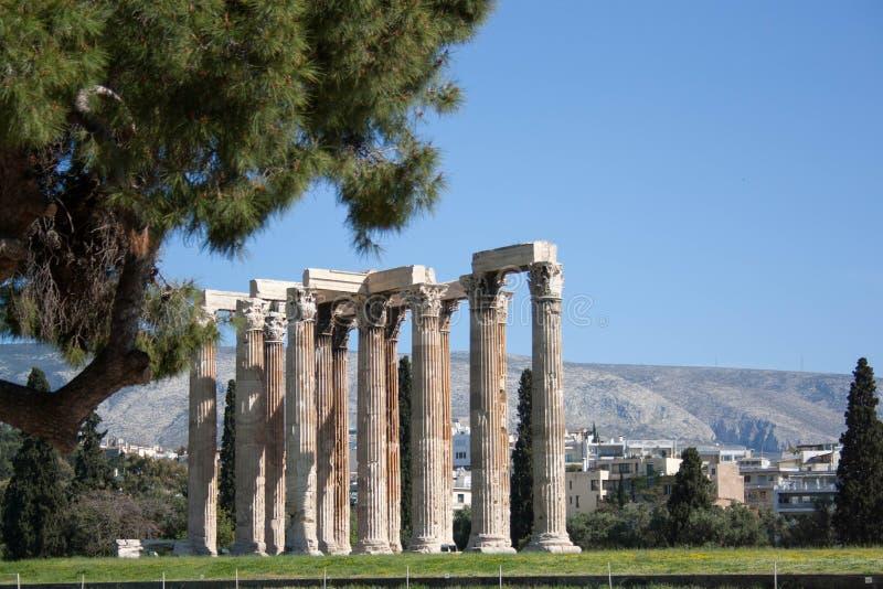 老城市,旅行欧洲,希腊语 库存照片