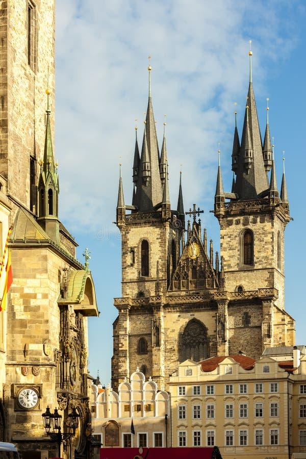 老城广场,布拉格,捷克 免版税库存照片