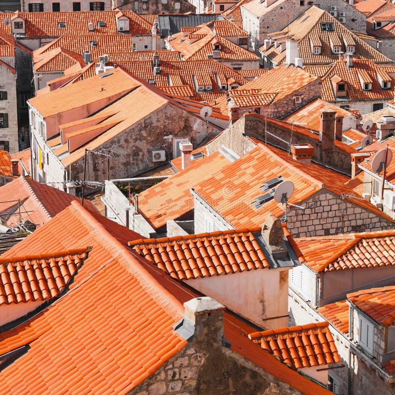 老城镇杜布罗夫尼克市 库存照片