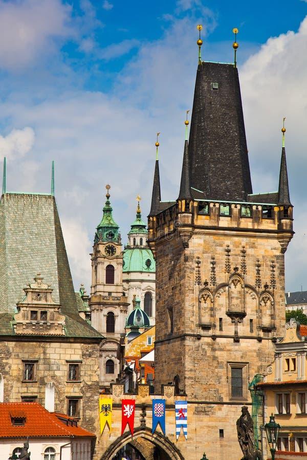 老城镇,布拉格,捷克共和国 免版税库存照片