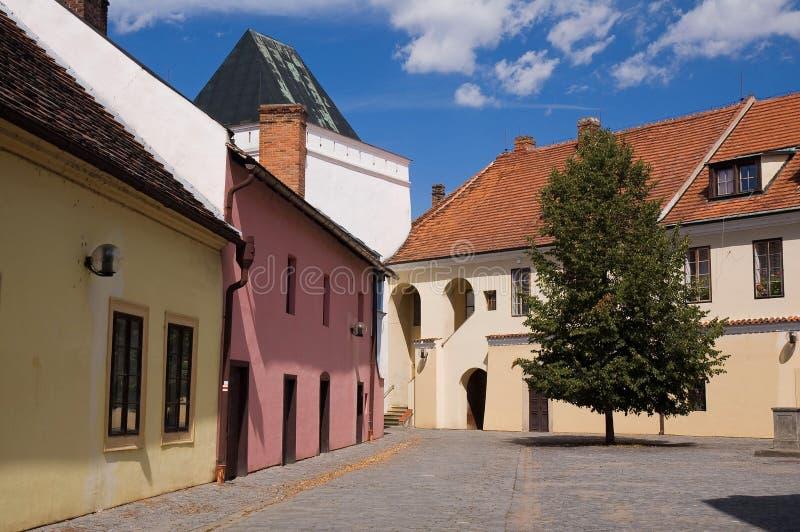 老城镇 库存图片