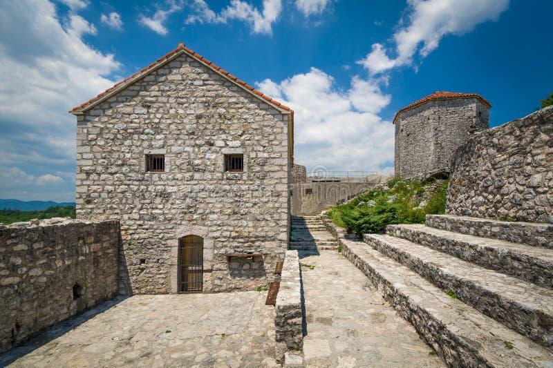 老堡垒Bedem法院 库存照片