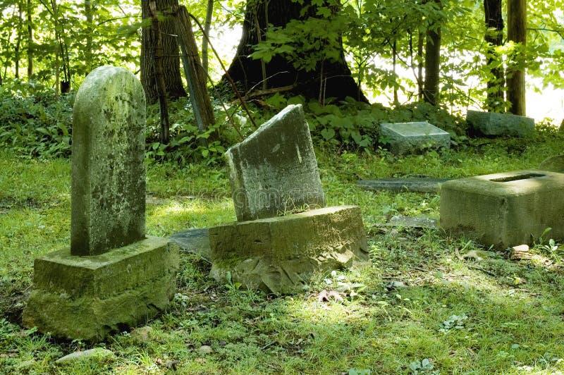 老墓石 库存图片