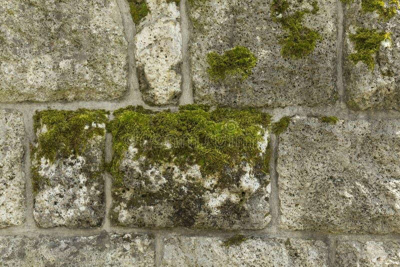 老墙壁由石头做成 图库摄影