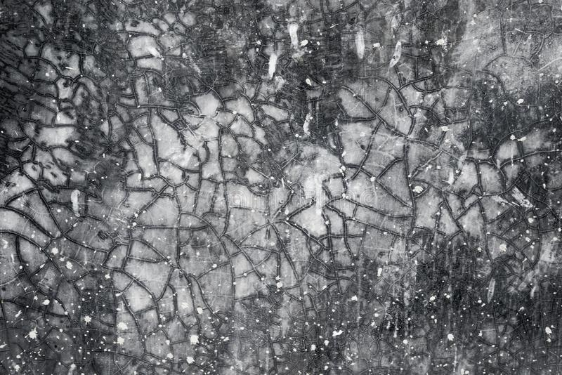 老墙壁背景灰色黑概念 免版税库存图片