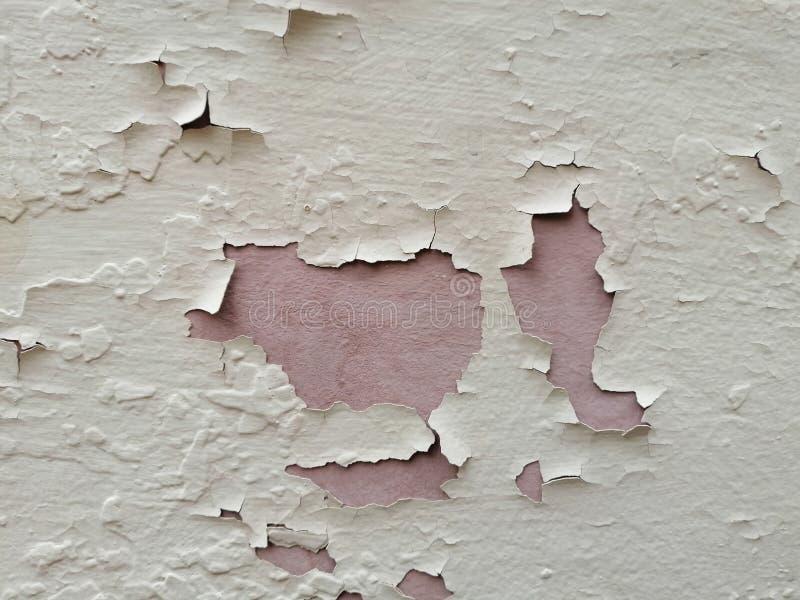 老墙壁覆盖的片段 免版税库存图片