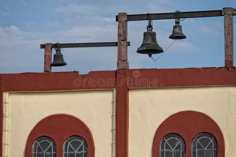 老墨西哥城大厦 免版税库存照片