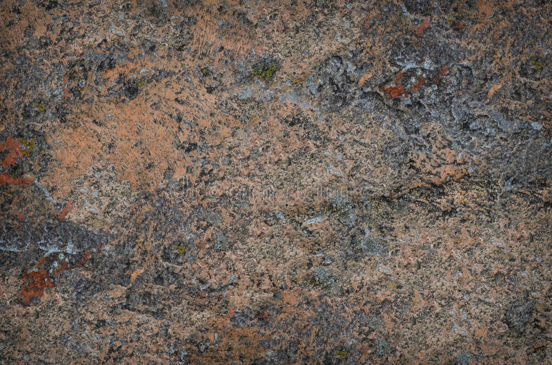 老多斑点的被弄脏的混凝土墙纹理背景 免版税库存图片