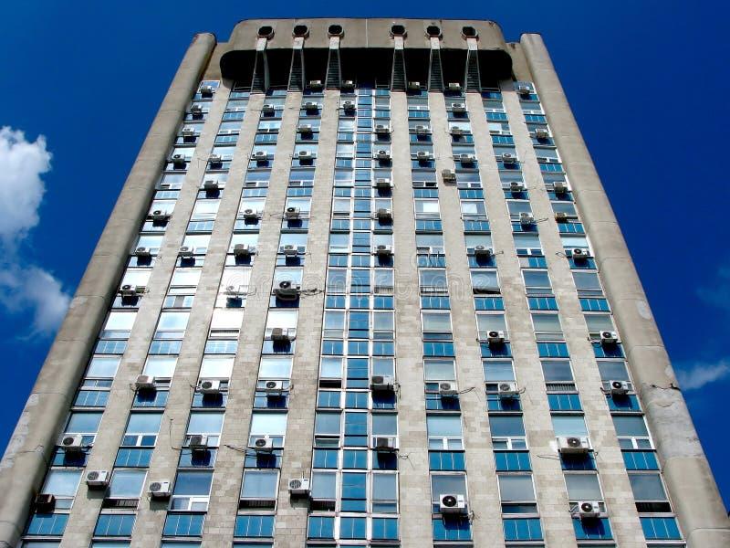 老大厦办公室 图库摄影