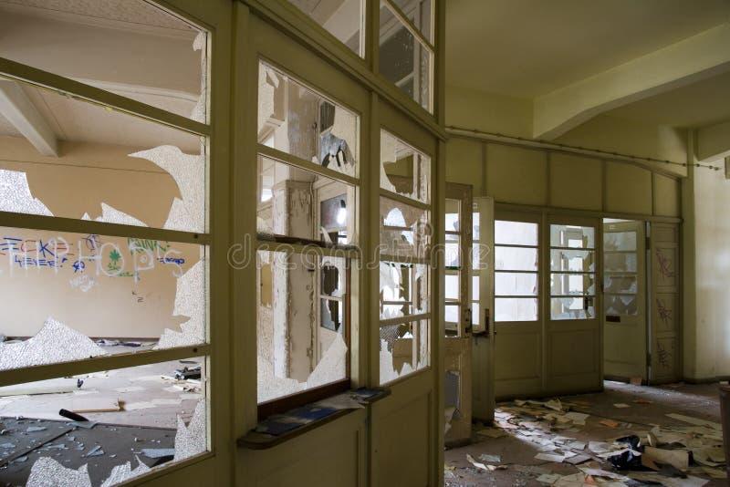 老大厦办公室 库存图片