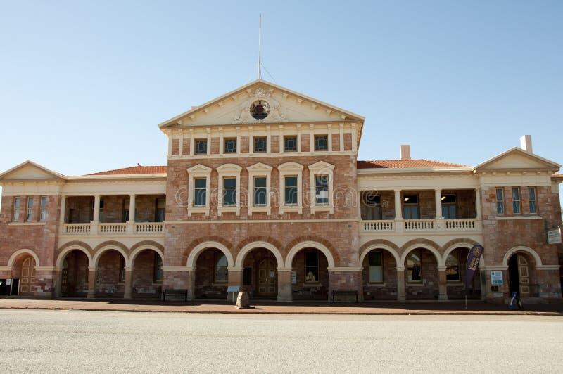 老大厦法院大楼 库存照片
