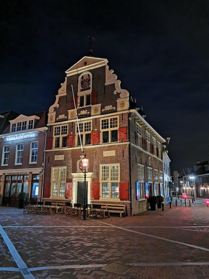 老大厦荷兰 免版税库存照片