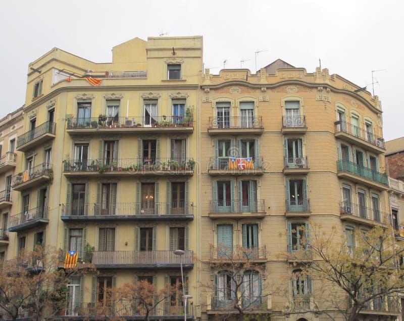老大厦巴塞罗那 库存图片