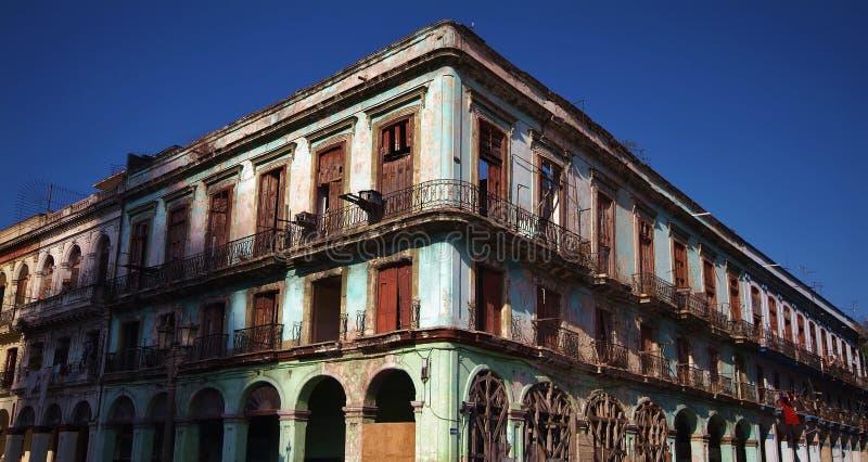 老大厦 库存照片