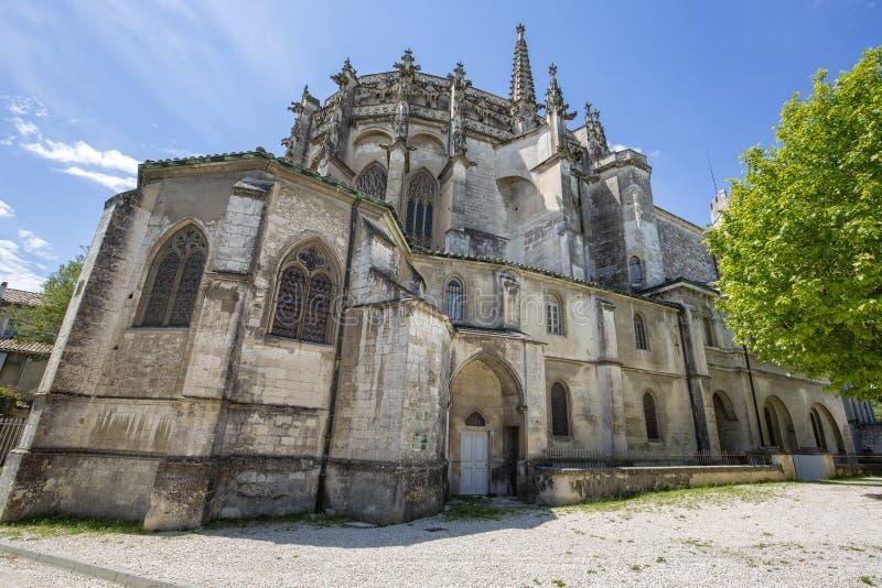 老大教堂在法国,欧洲 免版税库存照片