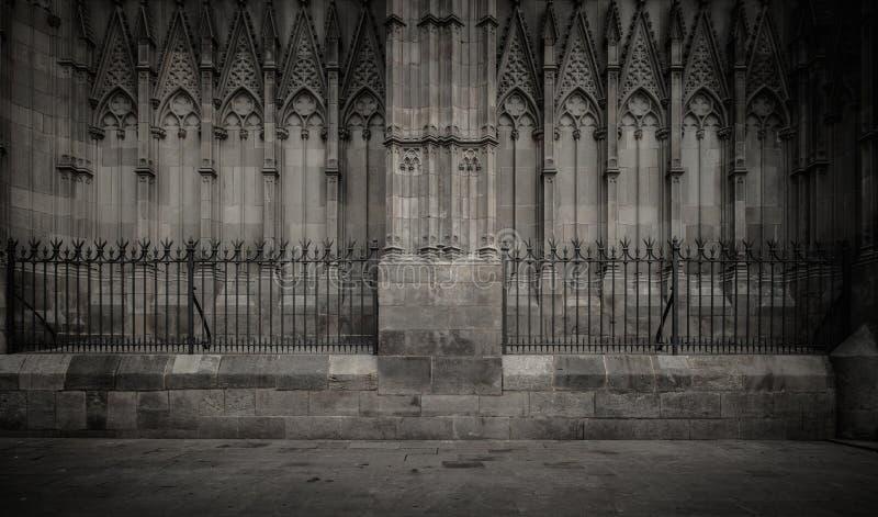 老大教堂建筑学细节 免版税库存照片