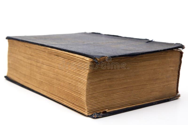 老大闭合的书籍 免版税库存照片