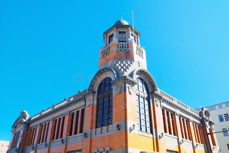 老大阪Shosen门司分部在北九州,日本 库存图片