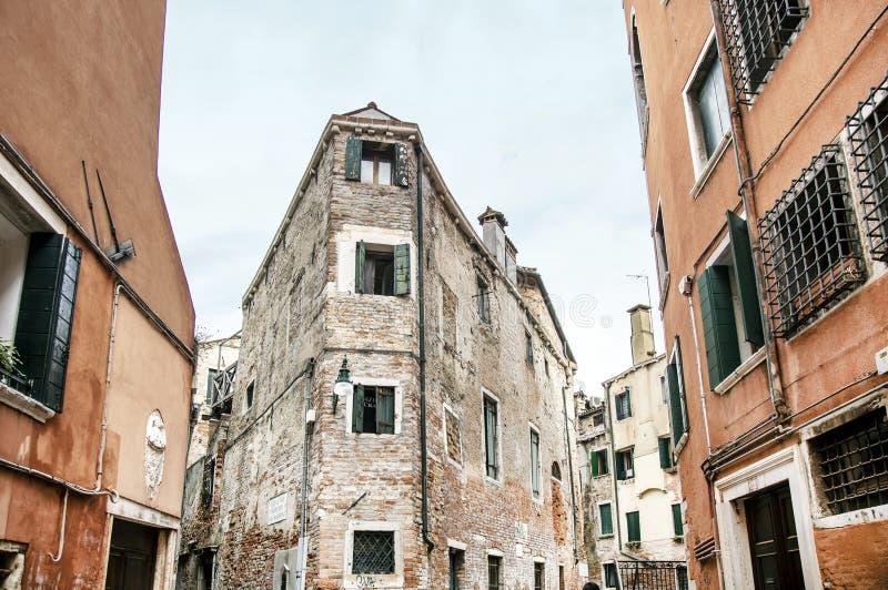 老威尼斯式区 库存照片
