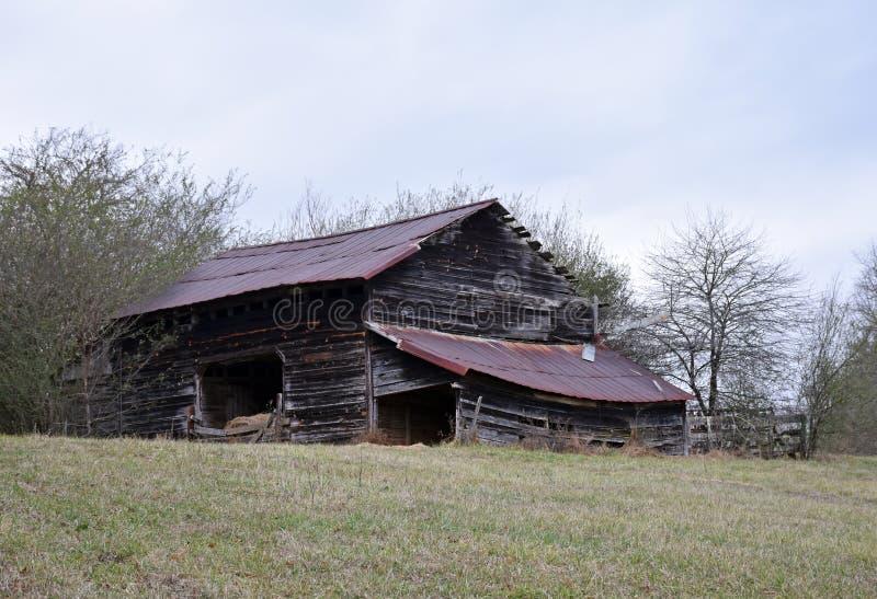 老存贮谷仓 库存图片
