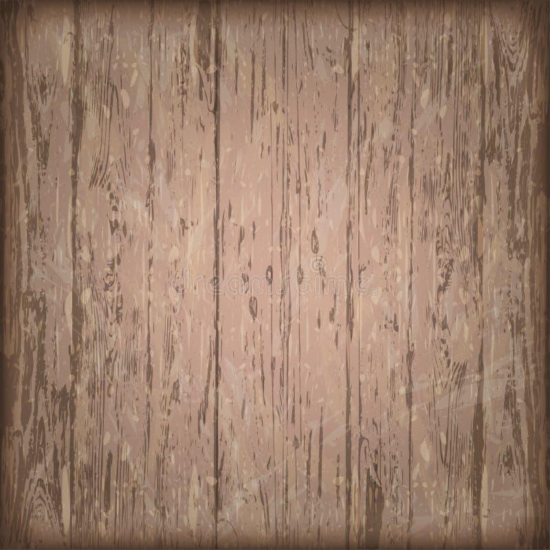老实体木材板条土气破旧的背景 抽象backgrou 库存例证