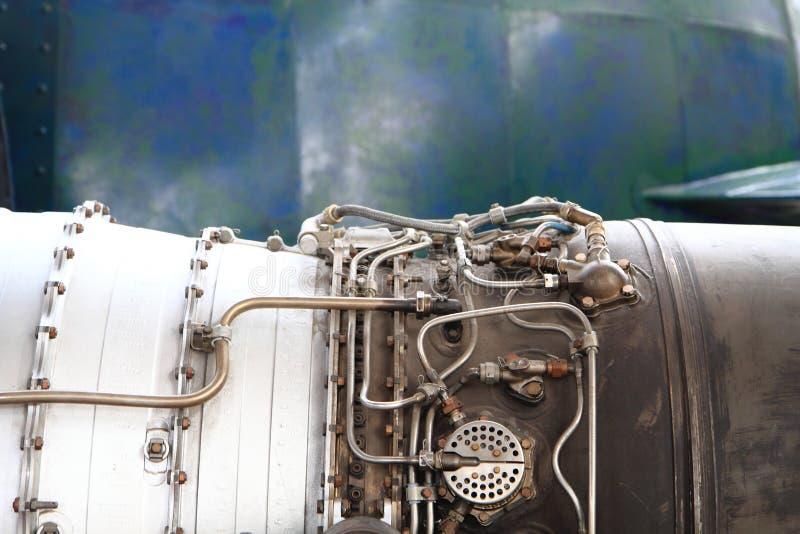 老导弹引擎  库存图片